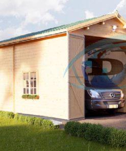 Garage för hög bil 32m², 44mm