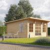Trädgårdskontor ESSEX 19.9m² (5x4) 44mm