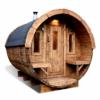 Bastutunna 4.0 m / Ø 2,27 (med 1 m omklädningsrum) _ Termo trä