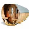 Bastutunna 4.5 m / Ø 2.27 (med 1,5 m omklädningsrum) _ Termo trä