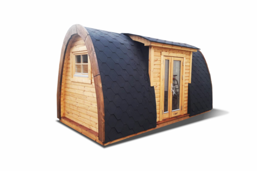 Lyxig Isolerad Camping Pod 6.0 m (med sideindgang)