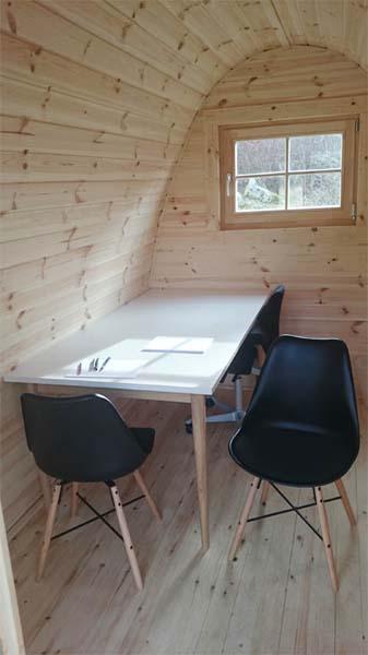 Lyxig Isolerad Camping Pod