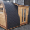 Lyxig Isolerad Camping Pod med sideindgang