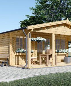Trästugor - Gästhus DINAN 35,4 m²