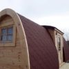 Lyxig Isolerad Camping Pod 6m m/sideindgang