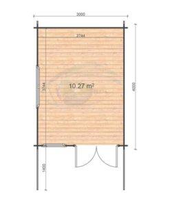 Alva-3x4 floor plan