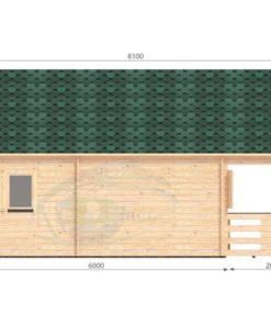 Sommarhus 36 m² Gustav, 44 mm_left