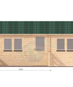 Sommarhus 31 m² Hakan, 44mm - front