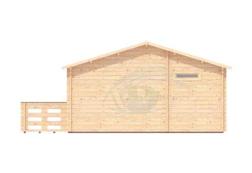Sommarhus 31 m² Hakan, 44mm - right