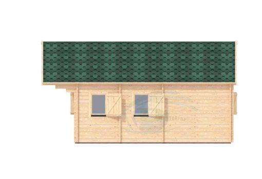 Sommarhus 27 m² Torino, 44 mm - right