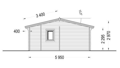 Fritidshus MARINA 48 m²