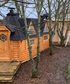 Camping stuga 9.2 m² med förlängning