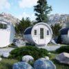 Camping tunna Ø 2.2 X 3.3 m MINI