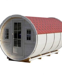 Camping tunna Ø 2.2 X 4.4 m Klasik