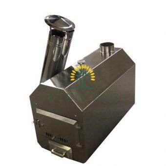 8 vinkel exteriör kamin 20 KW - 30 KW