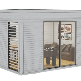 Isolerad Cube-MANS CAVE 3 x 4 m