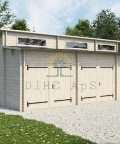Dubbel garage Favori 5.7m x 7.7m; 44mm