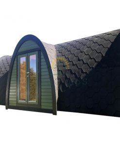 Camping pod med sideindgang 2.4×5.9