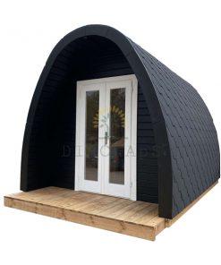 Lyxig Isolerad Camping Pod 4 m